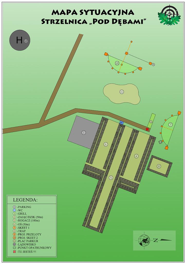 strzelnica plan
